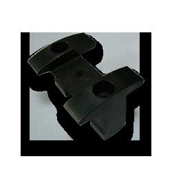 S45C材黒染め